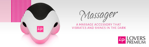 Vibrating massager - Lovers Premium