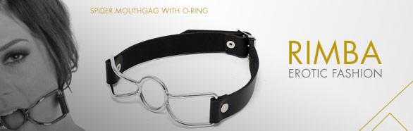 Ball Gag ragno con anello torico - Rimba