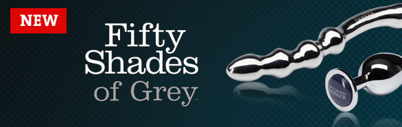 Dildo en acier Darker Delicioulsy Deep - Fifty Shades of Grey