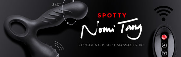 Masseur prostatique Spotty Revolving RC - Nomi Tang