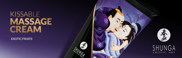 Kissable Massage cream - Shunga