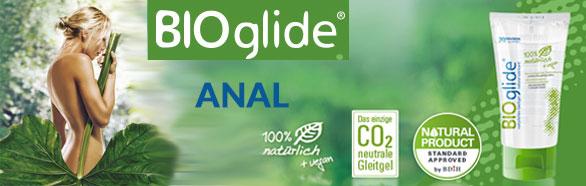 Bioglide Anal 80ml - natural lubricant Joydivision