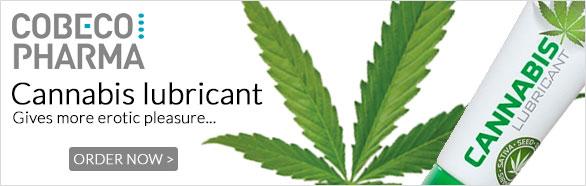 Cannabis Lube - Cobeco