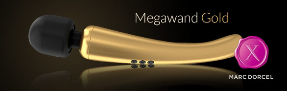 Megawand Gold - Magic Wand Vibrator Marc Dorcel