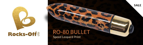 Rocks-Off - RO-80mm 7 Speed Leopard Print